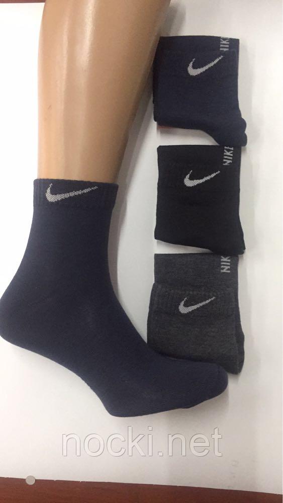 Носки мужские спорт средней высоты Nike  пр-во Турция