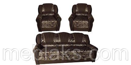 Комплект диван + 2 кресла  Лидия (алеко)   Udin, фото 3