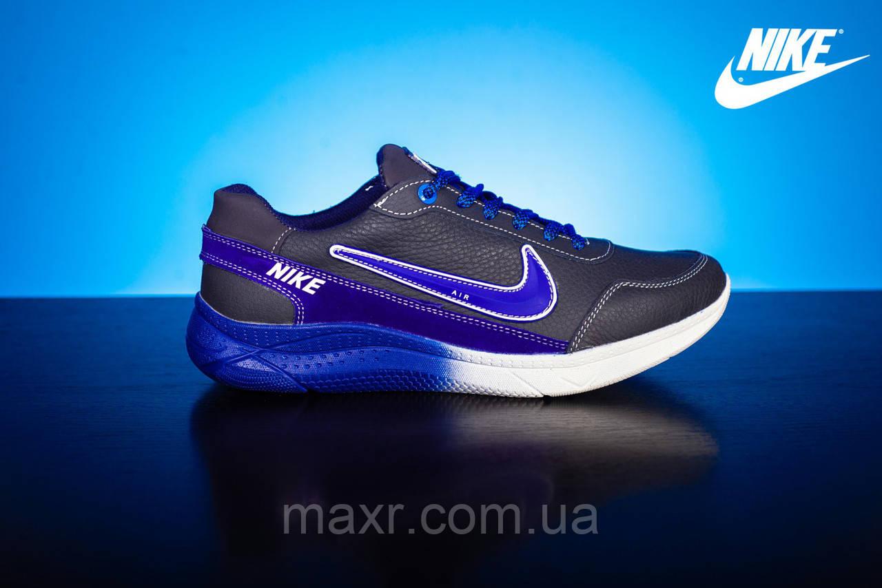 7b3c4989e Мужские кожаные кроссовки Nike Синий/Голубой 22_sin_gol: 730 грн ...