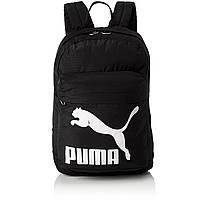 Рюкзак спортивный Puma Originals Black 74799 01 (черный, не промокаемое днище, 20 литров, логотип пума)