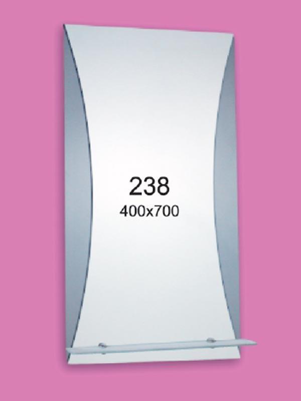 Зеркало для ванной комнаты 400х700 Ф238