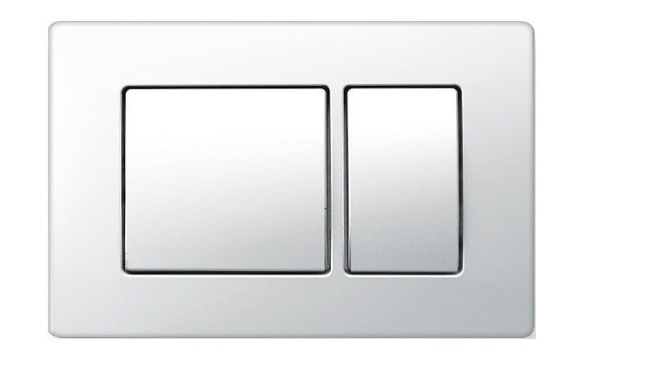 Панель смыва Kvadro White