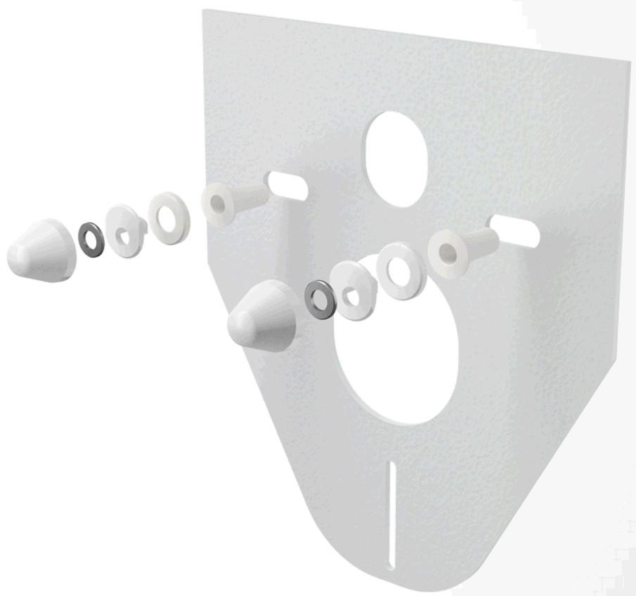 Звукоизоляционная плита с принадлежностями 590x390x430