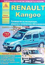 RENAULT KANGOO Моделі з 1997 року Керівництво по ремонту та експлуатації