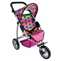 Трехколесная коляска для кукол Bino большая