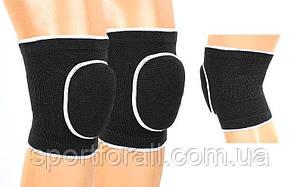 Наколенник волейбольный спортивный взрослый черный (2шт) DIKES BC-0835