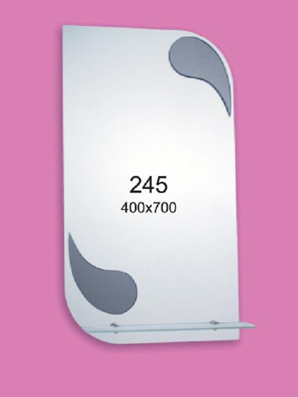Зеркало для ванной комнаты 400х700 Ф245
