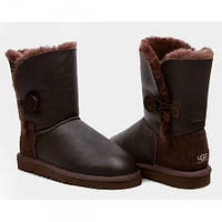 Женские сапоги UGG Bailey Button chocolate