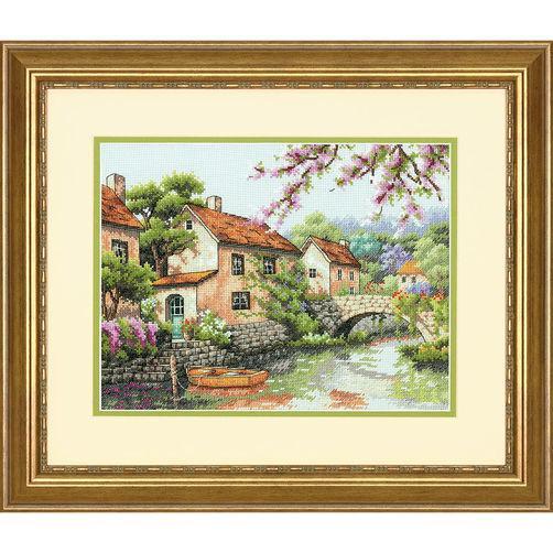 Набор для вышивания крестом Канал/Village Canal DIMENSIONS 70-35330