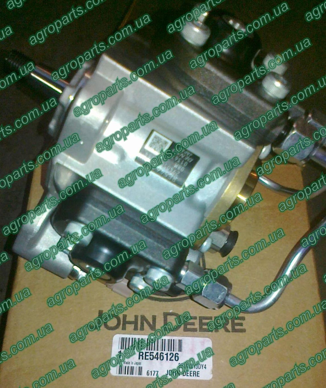 Насос RE546126 топливный RE534156 FUEL PUMP John Deere re546126 продам з/ч RE 534156 купити RE532519