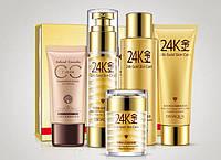 Подарочный набор  по уходу за лицом с Био-золотом 24K Gold Skin Care