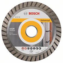Алмазний відрізний круг Standard for Universal Turbo 125 мм BOSCH