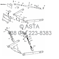Подъемный механизм (опция) на YTO X754, фото 1