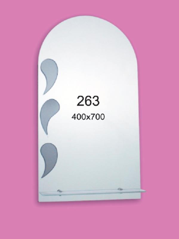 Зеркало для ванной комнаты 400х700 Ф263