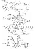 Подъемный механизм на YTO X754