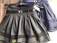 Школьная юбка для девочек от 8 до 14 лет