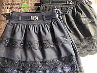 Школьная юбка для девочек от 9 до 14 лет