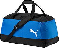 Сумка спортивная Puma Pro Training II 74892 03 (синяя, два боковых кармана на молнии, твердое дно, бренд пума)