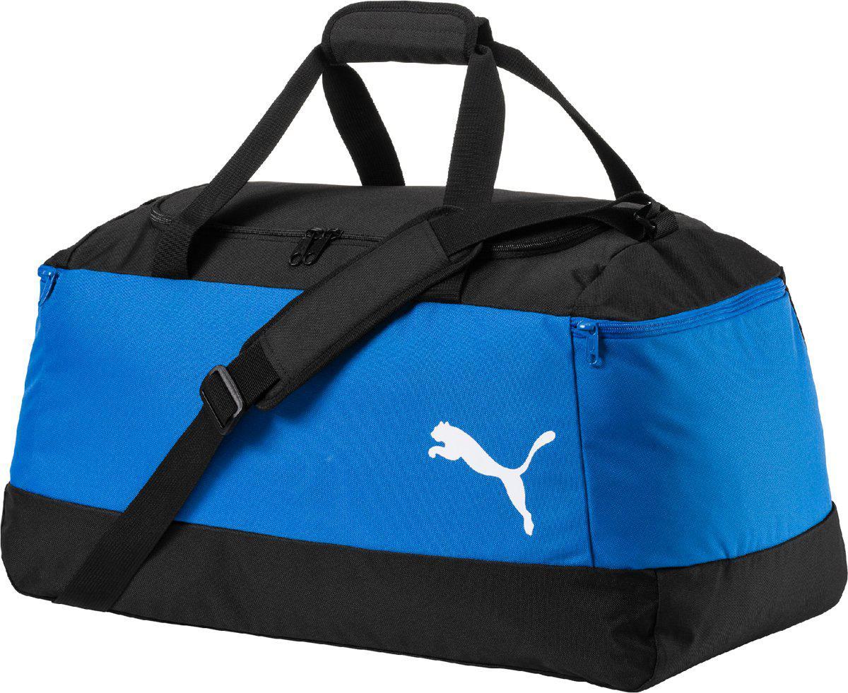 4e0cd41b Сумка спортивная Puma Pro Training II 74892 03 (синяя, два боковых кармана  на молнии