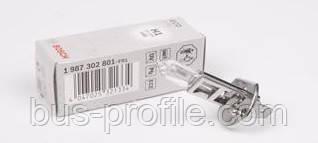 Автолампа H1 12V 55W P14.5s Standard — Bosch — 1 987 302 801