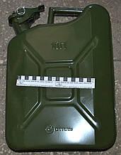 Канистра для ГСМ 10л металлическая 40454