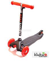 Детский самокат Micro Mini Черный Светящиеся колеса