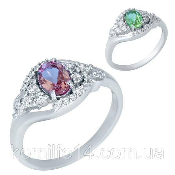 Серебряное кольцо с натуральным султанитом