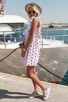Женское летнее короткое платье без рукава, фото 1
