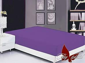 Фиолетовая простынь двуспальная есть цвета разные, фото 2