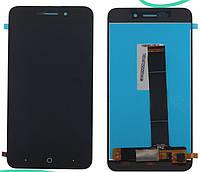 Дисплей (экран) для ZTE Blade A601 + тачскрин, черный