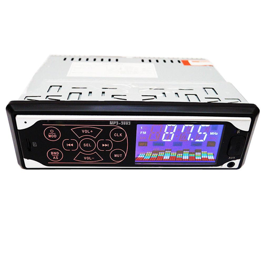 Сенсорная автомагнитола Pioneer 3883 ISO - MP3 Player, FM, USB, SD, AUX