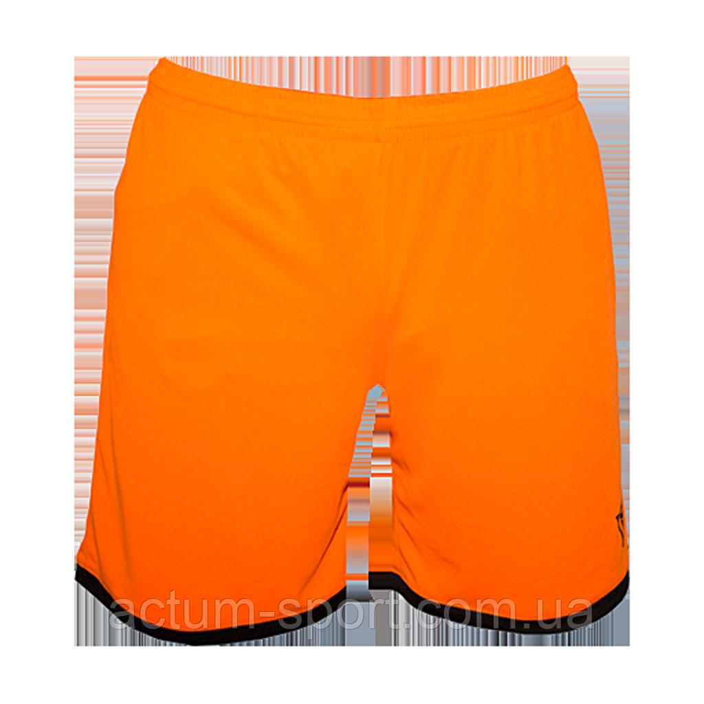Шорты футбольные Combi Titar оранжевые Оранж/черный, XL