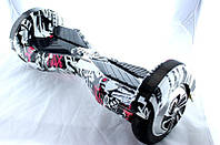 "Гироборд Smart Balance Wheel 8""  BT графити  (АКБ Samsung)"