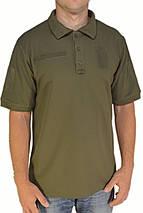 Футболка-поло летняя армейская из ткани CoolPass, фото 3