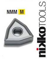 Твердосплавная токарная пластина WNMG060404-NMM сплав JP9030