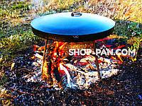 Крышка для сковороды из диска диаметром 50см
