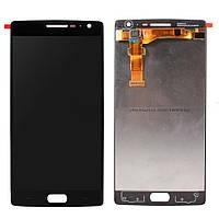 Дисплей (экран) для OnePlus Two + тачскрин, черный, оригинал