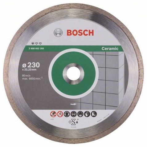 Алмазний відрізний круг Standard for Ceramic 230 мм BOSCH