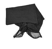 Маскировочная сетка-шарф Mil-Tec черного цвета, фото 1
