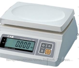 Весы фасовочные SW (один индикатор)
