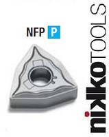 Твердосплавная токарная пластина WNMG080408-NFP сплав JС8015