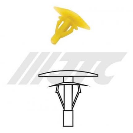 Автомобильная пластиковая клипса (для крепления звукоизоляция ) ( уп 200 шт.) (RD33 JTC), фото 2