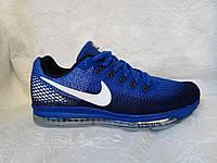 Мужские кроссовки Nike Zoom All Out синие с черным, фото 1