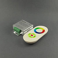 Контроллер RGB сенсорный 18A белый пульт