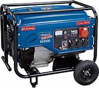 Scheppach SG 6500 генератор 5,5 кВт , фото 1