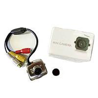 Цветная CCTV камера видеонаблюдения с блоком питания и микрофоном