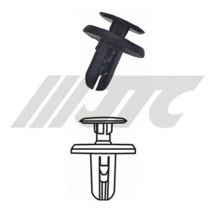 Автомобильная пластиковая клипса (общего назначения MITSUBISHI) ( уп 100 шт.) (RD41 JTC), фото 2