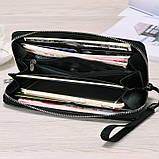 Женский кошелек клатч с глазами, фото 5