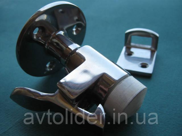 Нержавеющий дверной ограничитель 60 мм