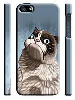 Чехол для iPhone 4/4s/5/5s/5с/6  кот сиамский